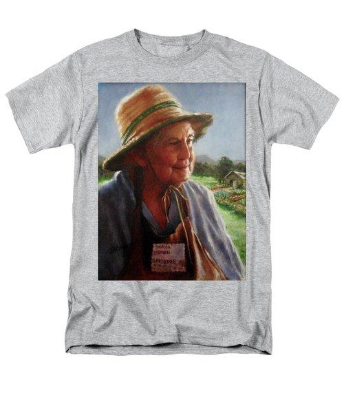 The Gardener Men's T-Shirt  (Regular Fit) by Janet McGrath