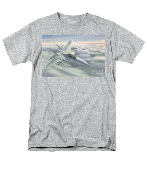 Men's T-Shirt  (Regular Fit) featuring the painting The Grey Ghost by Michael Swanson