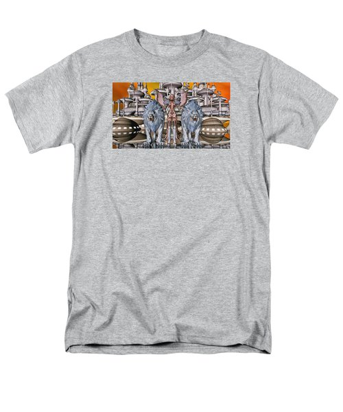The Guardians Of The City Men's T-Shirt  (Regular Fit) by Louis Ferreira