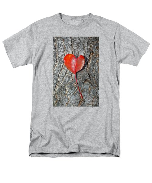 The Heart Of A Tree Men's T-Shirt  (Regular Fit) by Debra Thompson