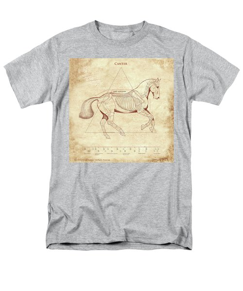 The Horse's Canter Revealed Men's T-Shirt  (Regular Fit) by Catherine Twomey