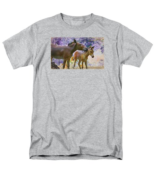 Men's T-Shirt  (Regular Fit) featuring the painting The Kiss Edition 2 by Judy Kay