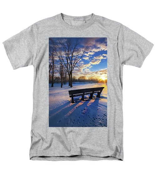 Men's T-Shirt  (Regular Fit) featuring the photograph The Light That Beckons by Phil Koch