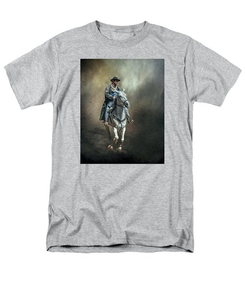 Men's T-Shirt  (Regular Fit) featuring the photograph The Lone Drifter by Brian Tarr
