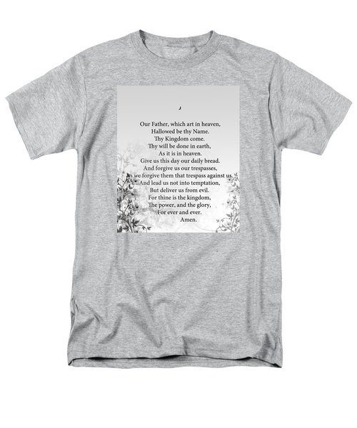 The Lord's Prayer Men's T-Shirt  (Regular Fit) by Trilby Cole