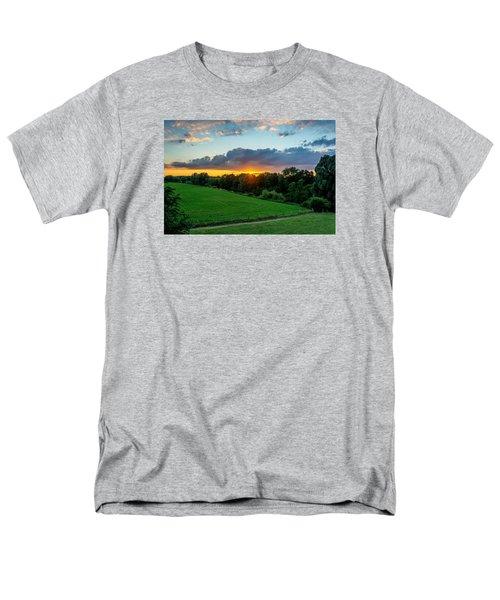 The Lower Rhine Region Men's T-Shirt  (Regular Fit) by Sabine Edrissi