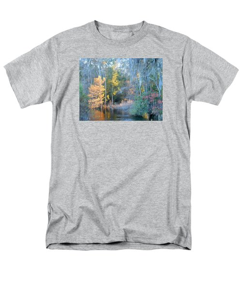 Men's T-Shirt  (Regular Fit) featuring the photograph The Magic Of Autumn Sunshine by Kay Gilley