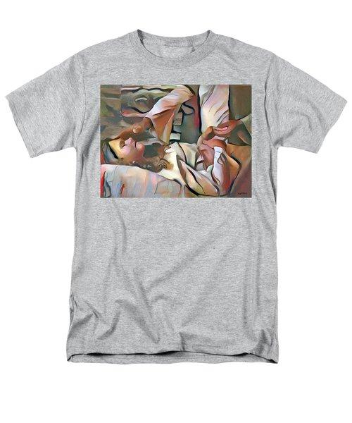 The Master's Hands - Healer Men's T-Shirt  (Regular Fit) by Wayne Pascall