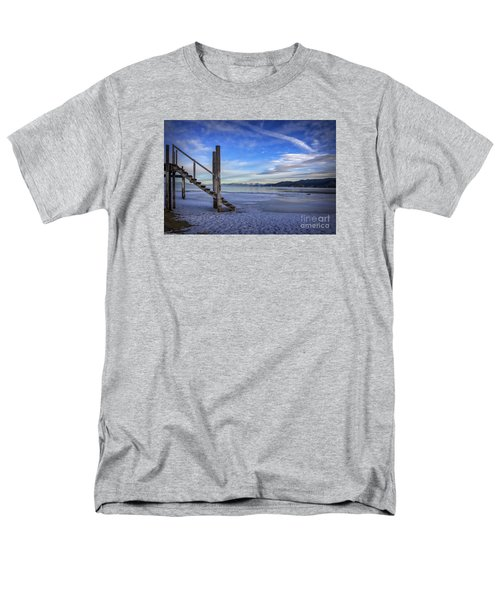 The Morning After Blues Men's T-Shirt  (Regular Fit) by Mitch Shindelbower