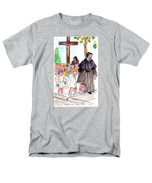 The Nuns Of St Mary's Church Men's T-Shirt  (Regular Fit) by Philip Bracco