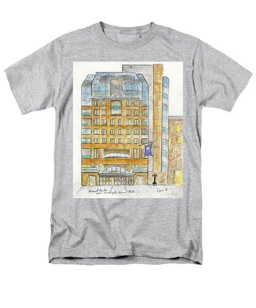The Nyu Kimmel Student Center Men's T-Shirt  (Regular Fit) by AFineLyne