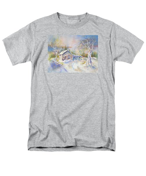 The Old Shed Men's T-Shirt  (Regular Fit) by Mary Haley-Rocks