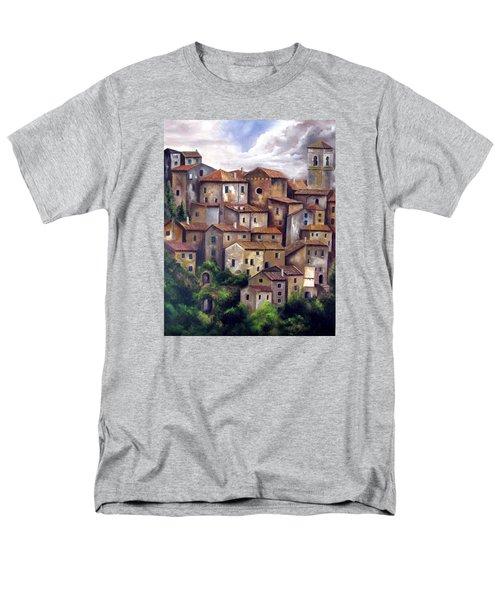 The Old Village Men's T-Shirt  (Regular Fit) by Katia Aho