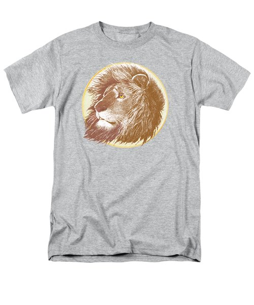 Men's T-Shirt  (Regular Fit) featuring the mixed media The One True King by J L Meadows