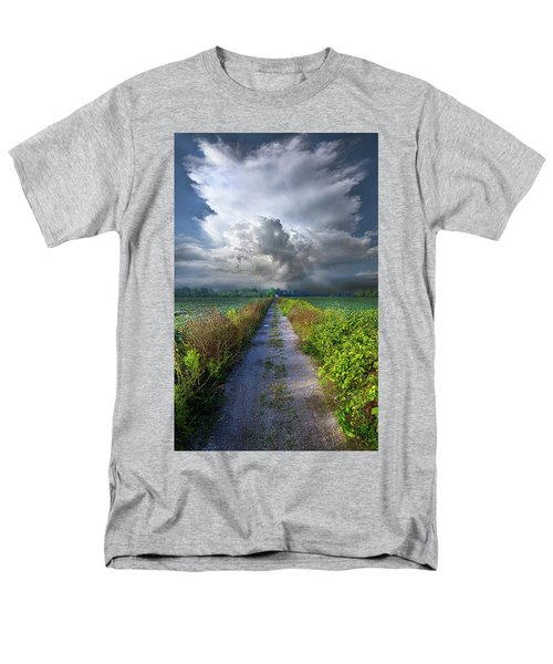The Only Way In Men's T-Shirt  (Regular Fit) by Phil Koch