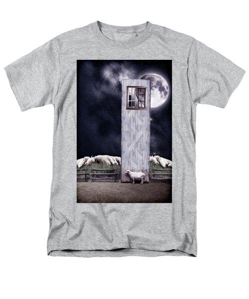 The Outsider Men's T-Shirt  (Regular Fit) by Mihaela Pater