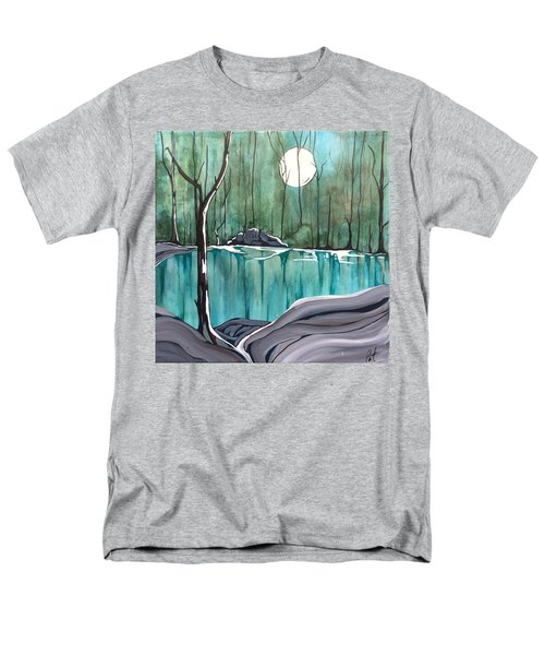 The Pond Men's T-Shirt  (Regular Fit) by Pat Purdy