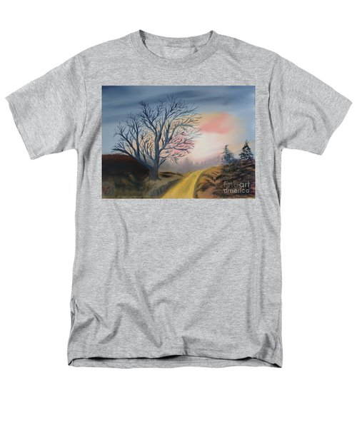 The Road To... Men's T-Shirt  (Regular Fit) by Rod Jellison