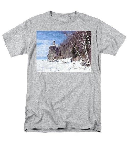 The Shoreline Lighthouse Men's T-Shirt  (Regular Fit) by Maciek Froncisz