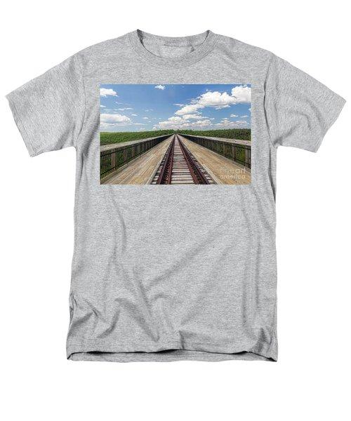 Men's T-Shirt  (Regular Fit) featuring the photograph The Skywalk by Jim Lepard