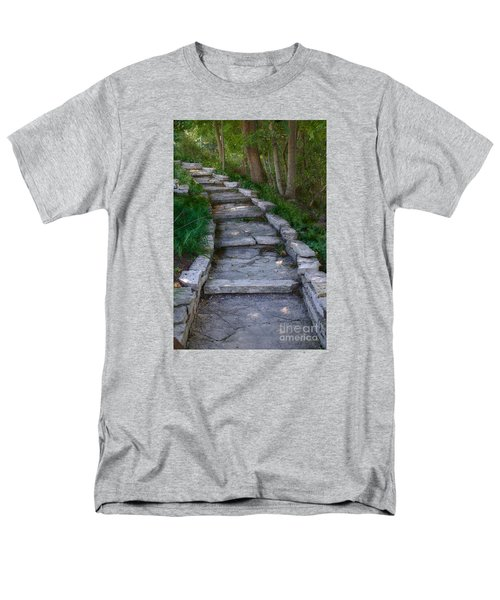 The Steps Men's T-Shirt  (Regular Fit) by David Blank