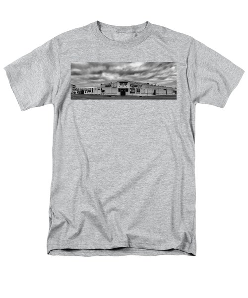 The Stone Pony Asbury Park New Jersey Black And White Men's T-Shirt  (Regular Fit) by Terry DeLuco