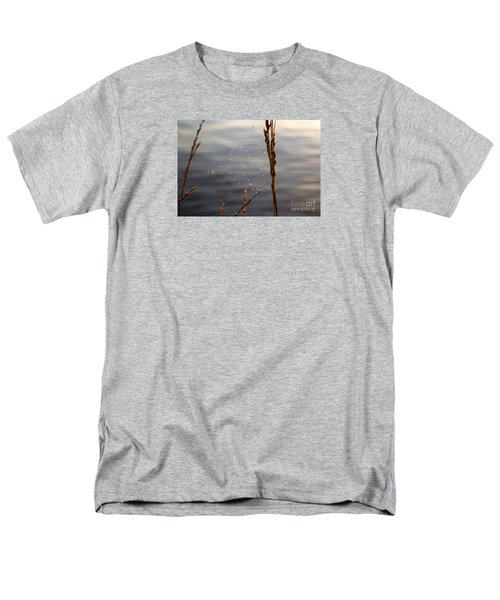 Men's T-Shirt  (Regular Fit) featuring the photograph The Tangled Webs We Weave by Rebecca Davis