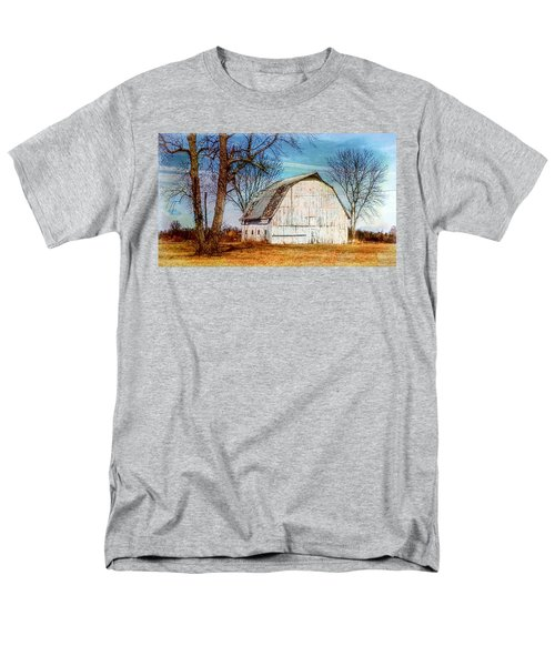The White Barn Men's T-Shirt  (Regular Fit) by Karen McKenzie McAdoo