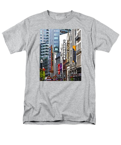 Theatre District Men's T-Shirt  (Regular Fit) by Stephen Flint
