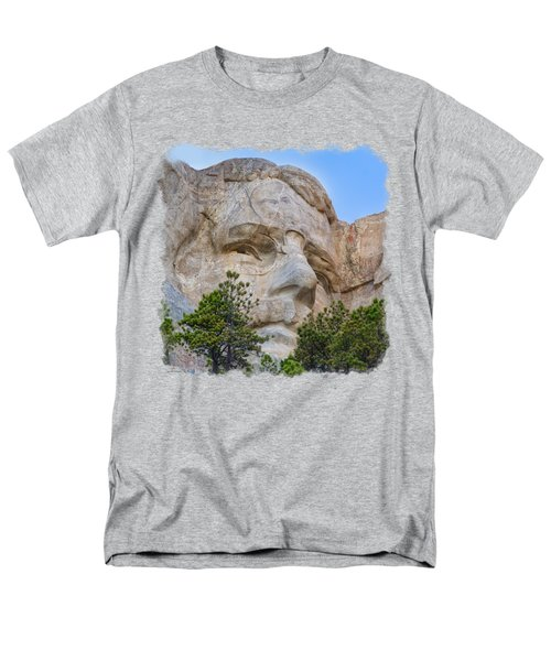 Theodore Roosevelt 3 Men's T-Shirt  (Regular Fit) by John M Bailey