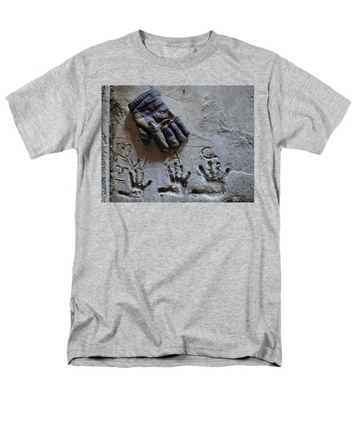 Men's T-Shirt  (Regular Fit) featuring the photograph Things Left Behind by Susan Capuano