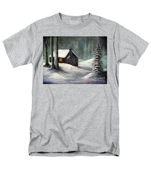 Thinking Warm Thoughts Of You Men's T-Shirt  (Regular Fit) by Hazel Holland