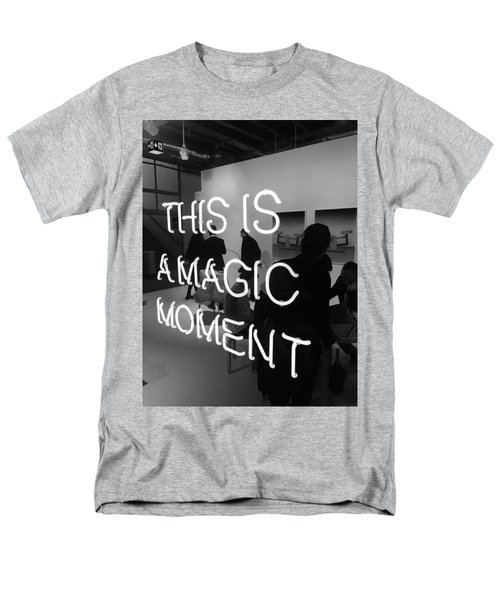 This Is A Magic Moment Men's T-Shirt  (Regular Fit) by Funkpix Photo Hunter