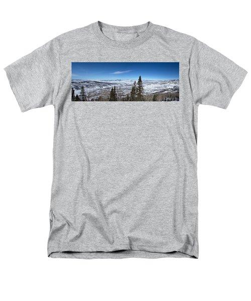 Through The Pines Men's T-Shirt  (Regular Fit) by Sean Allen