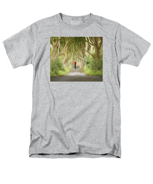 Men's T-Shirt  (Regular Fit) featuring the photograph Through The Trees by Roy  McPeak