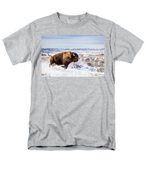 Thunder In The Snow Men's T-Shirt  (Regular Fit)