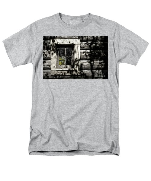 Men's T-Shirt  (Regular Fit) featuring the photograph Timber Hand-crafted by Brad Allen Fine Art