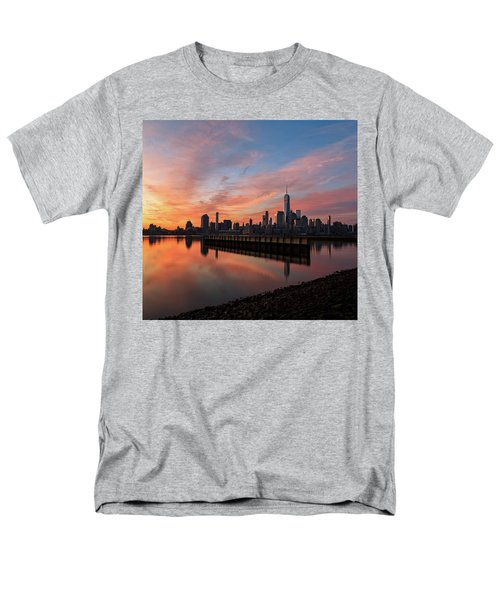 Time To Reflect  Men's T-Shirt  (Regular Fit) by Anthony Fields