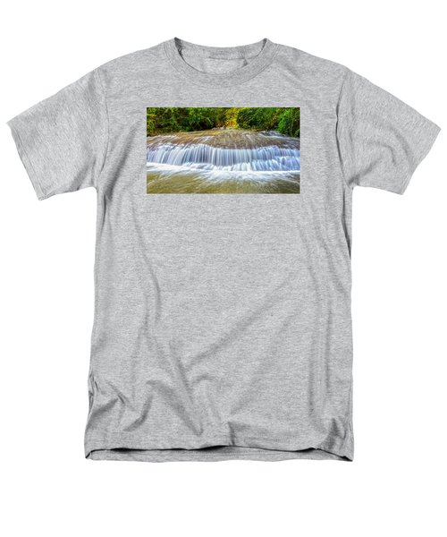 Men's T-Shirt  (Regular Fit) featuring the photograph Tinton Falls After The Rain by Gary Slawsky