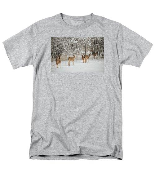 Men's T-Shirt  (Regular Fit) featuring the photograph To Greet A Friend by Nikki McInnes