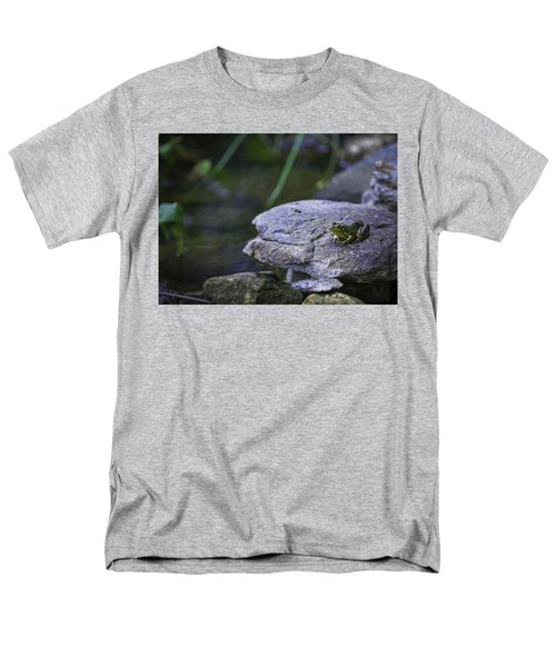 Toading It Up Men's T-Shirt  (Regular Fit) by Jason Moynihan