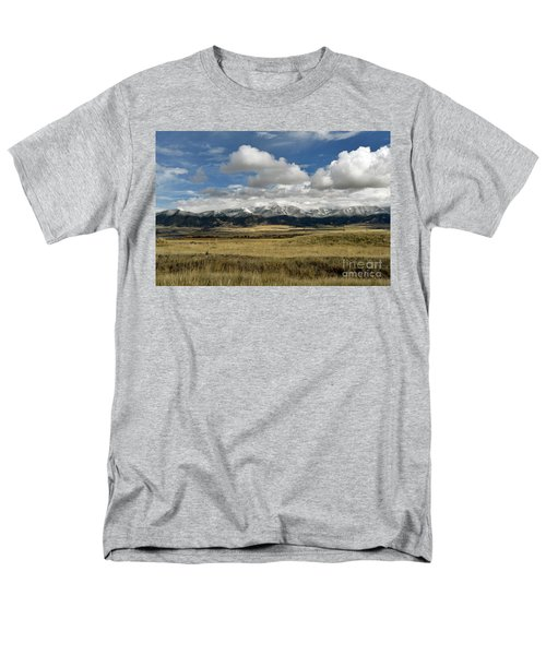 Tobacco Root Mountains Men's T-Shirt  (Regular Fit) by Cindy Murphy - NightVisions