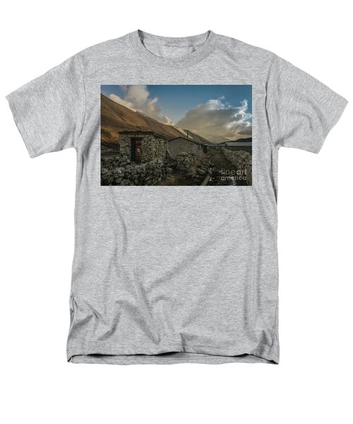 Men's T-Shirt  (Regular Fit) featuring the photograph Toilet by Mike Reid
