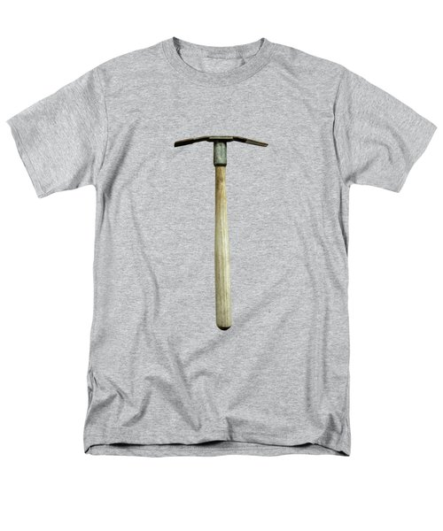 Tools On Wood 16 On Bw Men's T-Shirt  (Regular Fit) by YoPedro