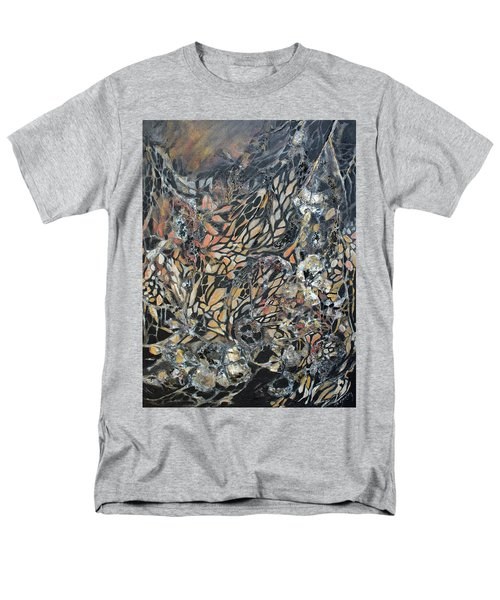 Men's T-Shirt  (Regular Fit) featuring the mixed media Transformation by Joanne Smoley