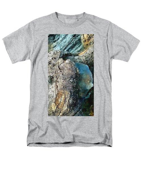 Tree Beats Rock Men's T-Shirt  (Regular Fit) by Karl Reid