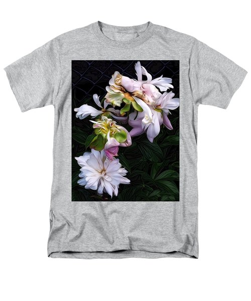 Tree Peony Men's T-Shirt  (Regular Fit) by Alexis Rotella