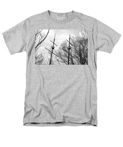 Men's T-Shirt  (Regular Fit) featuring the photograph Tree Types by Valentino Visentini