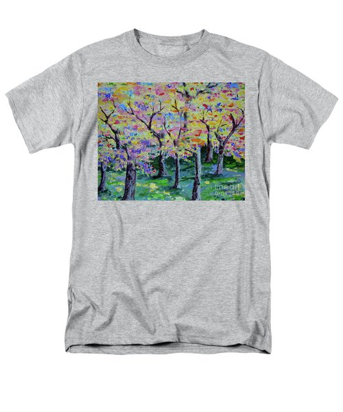 Trees On Hideaway Ct Men's T-Shirt  (Regular Fit) by Lisa Rose Musselwhite