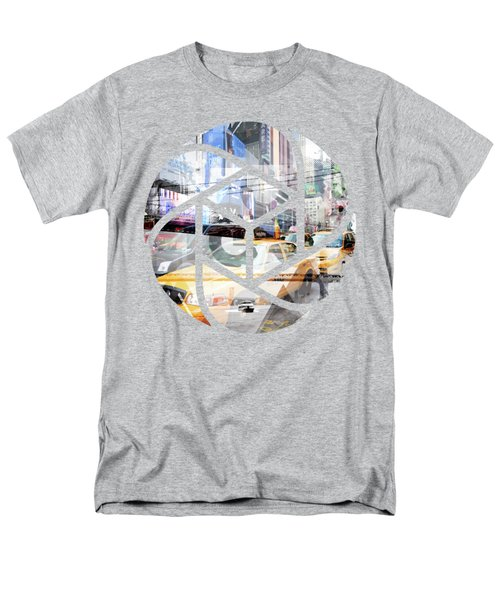 Trendy Design Nyc Geometric Mix No 9 Men's T-Shirt  (Regular Fit) by Melanie Viola